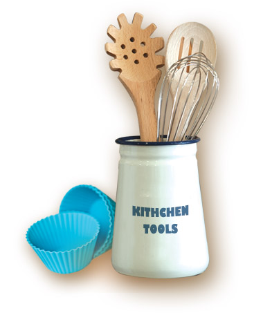 Whisks & Wooden Spoons